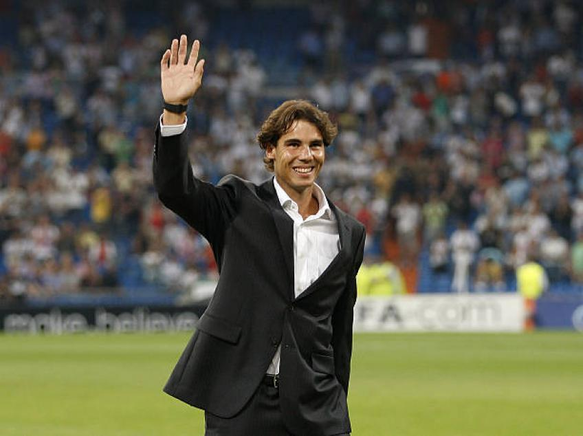Rafael Nadal's company involved in organizing Real Madrid-Roma match