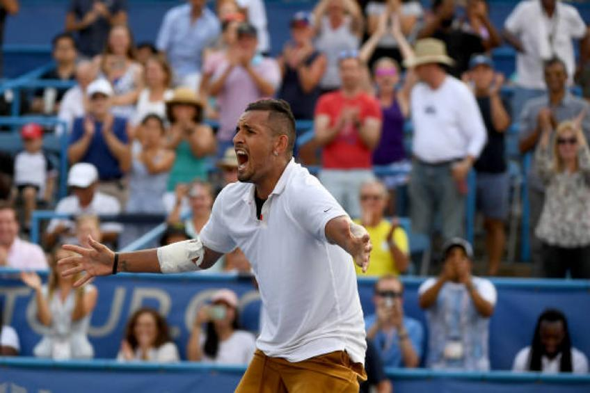 Nick Kyrgios pleased not to face Rafael Nadal in US Open early rounds