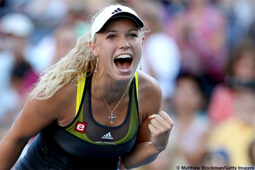 Caroline Wozniacki gets enthusiastic for another strong run in Toronto