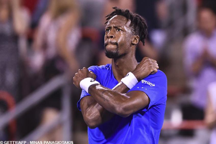 Gael Monfils overcomes fitness and ankle issues in Montreal