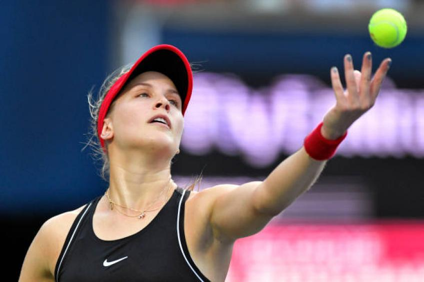 Eugenie Bouchard speaks about extra tennis things in press conference