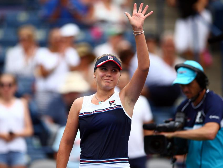 Sofia Kenin sizzles at Rogers Cup defeats Barty