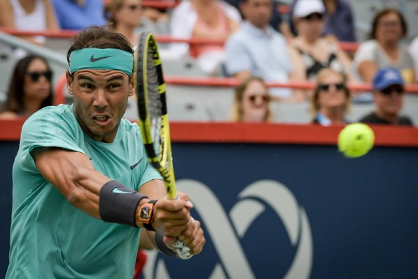 Nadal, Thiem advance in rain-hit Montreal