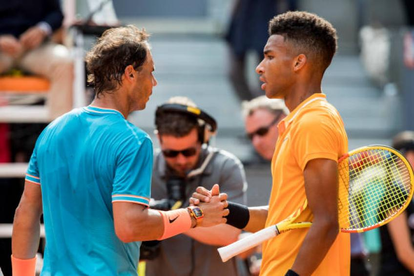 How Felix Auger-Aliassime can be inspired by Rafael Nadal