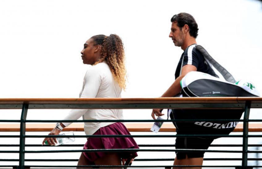 There is trust and respect between Serena Williams and I, says coach