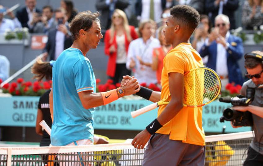 Auger-Aliassime's breakthrough compared to Rafael Nadal's by Khachanov
