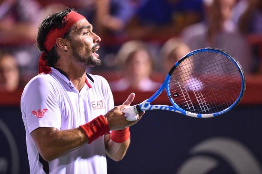 Fabio Fognini: 'On the court I lose my head, off it I am relaxed'