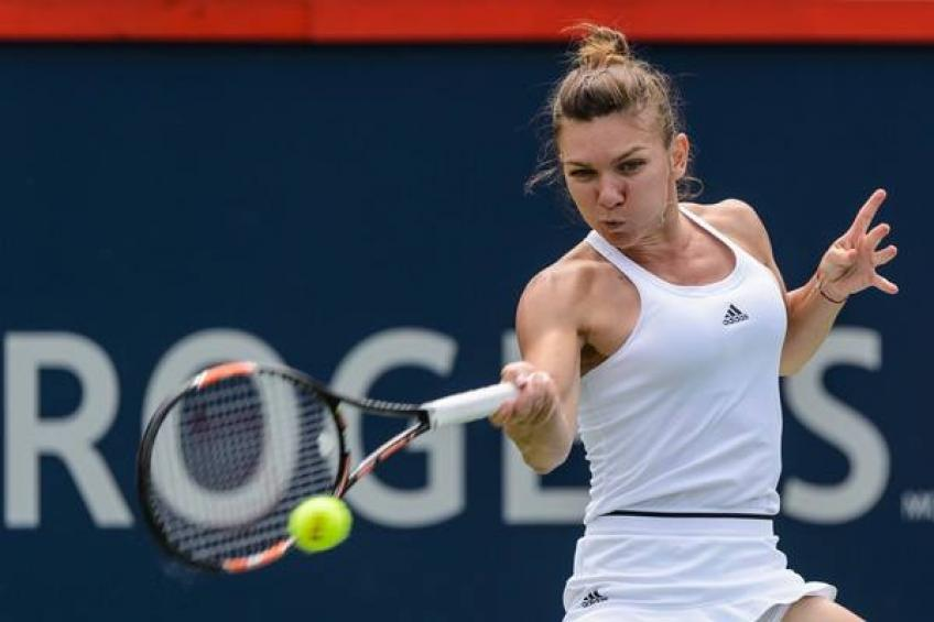 Simona Halep gets into higher gear to go deeper in Toronto -- then injury!