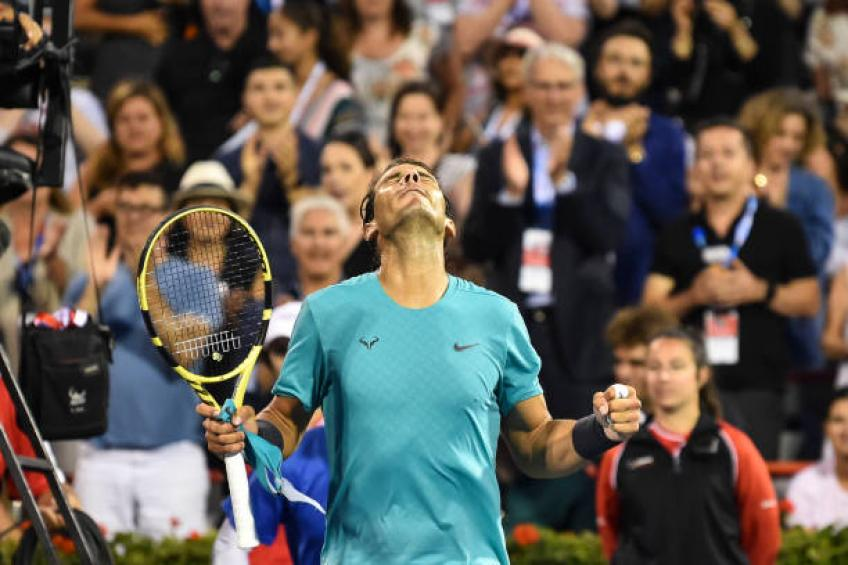 Rafael Nadal: 'Fognini is playing great. I saw him a bit on Wednesday'