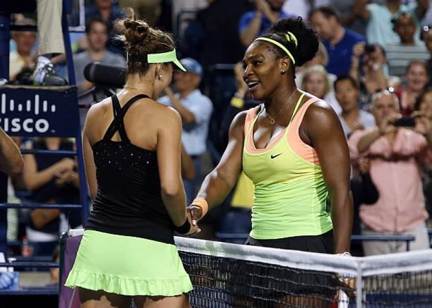 Andreescu shares touching memory on Serena Williams-Bencic 2015 match