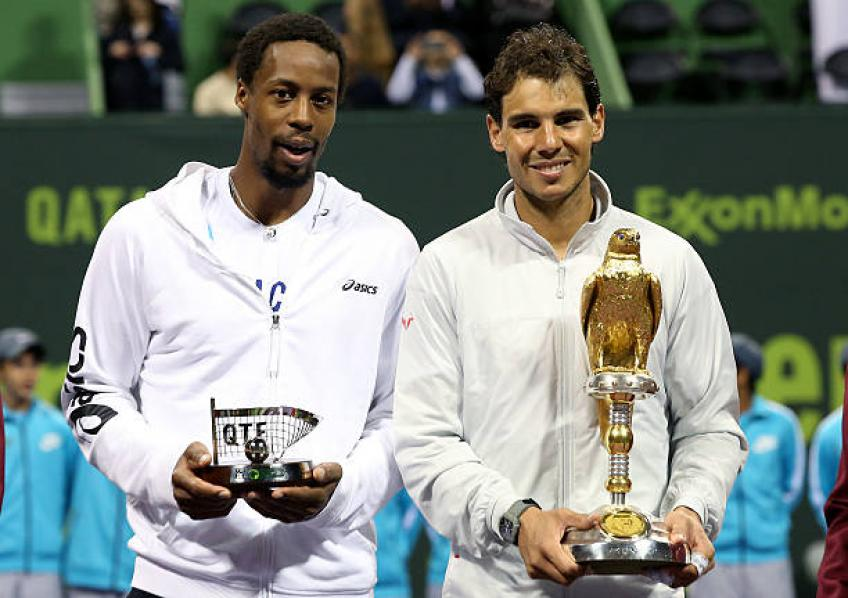 Gael Monfils: 'You have to be at 100 percent to face Rafael Nadal. I'm not'