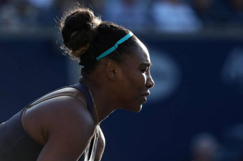 Tearful Serena retires injured in Toronto final