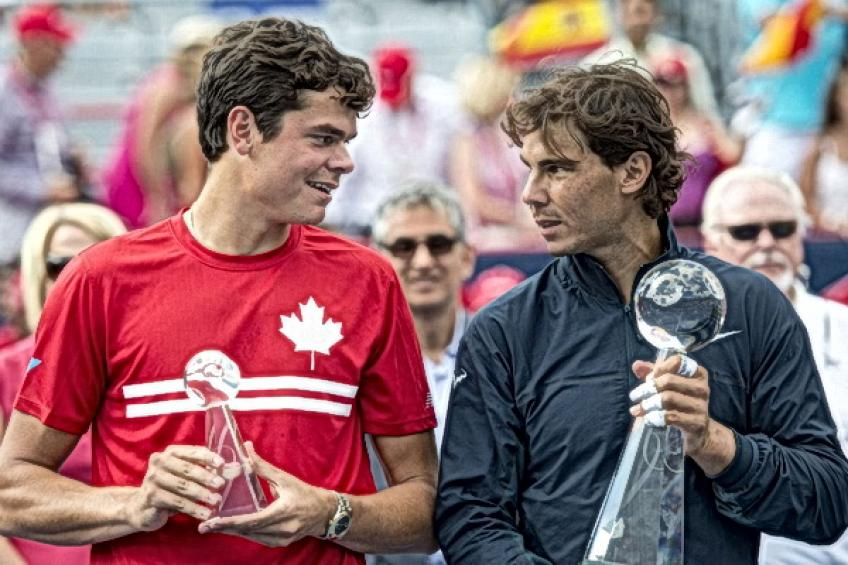 On this day: Rafael Nadal topples Milos Raonic for third Canada Open crown