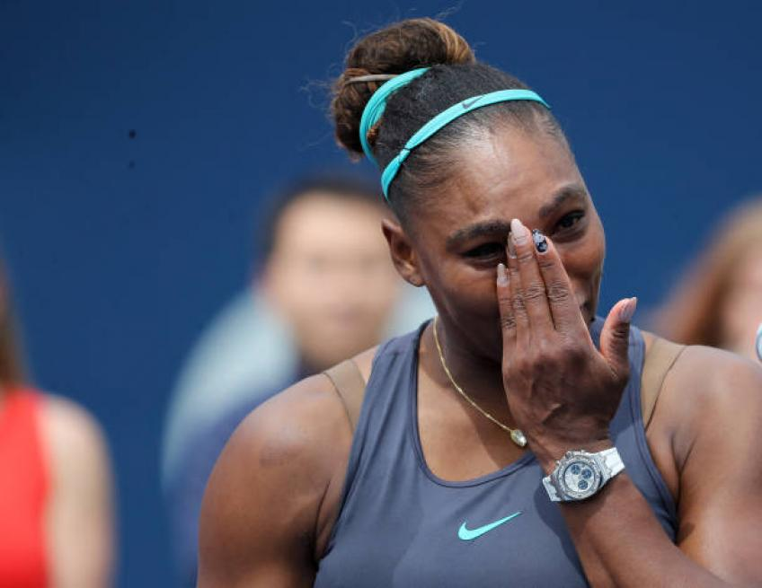 Serena Williams: 'I've played many matches incredibly injured'