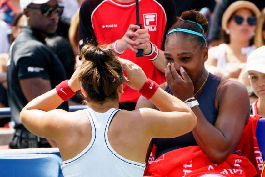Bianca Andreescu: 'Not easy for Serena Williams, I know how it feels'