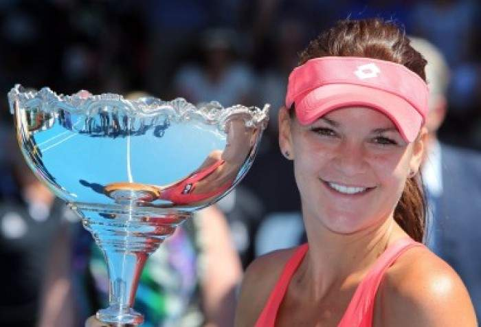 WTA Auckland - Radwanska is first WTA winner in 2013