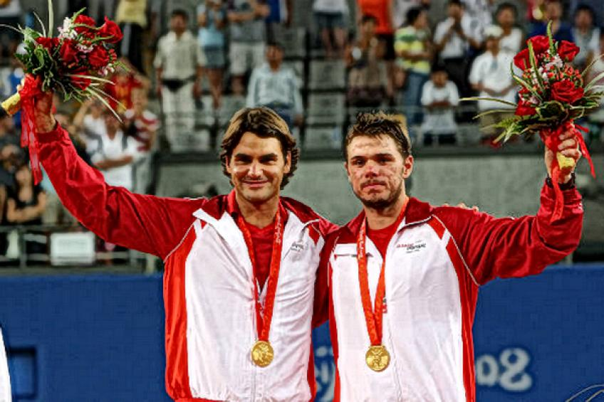 On this day: Roger Federer and Stan Wawinka earn Olympic gold medal