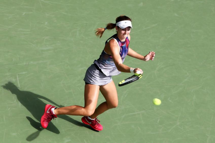 Still unable to compete, CiCi Bellis withdraws from the US Open