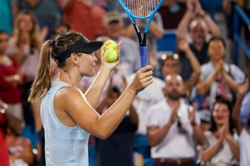 Maria Sharapova: 'When I was younger, top ten players were more consistent'