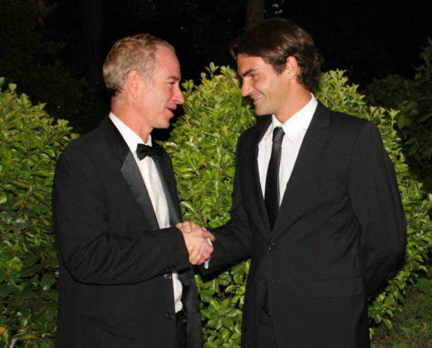 McEnroe draws perfect player, mentions Federer, Djokovic, Nadal