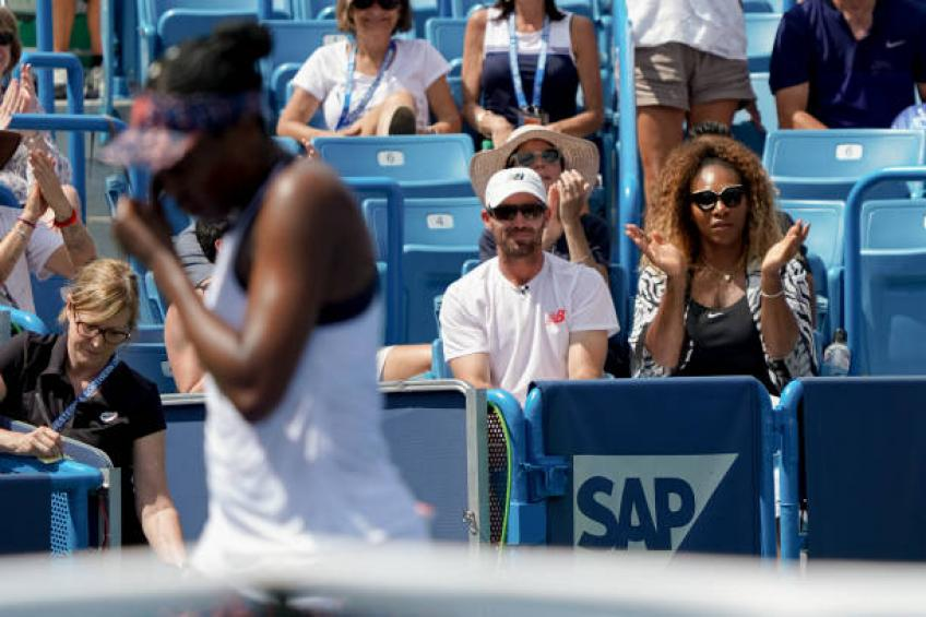 Venus Williams: 'It's great to have Serena Williams on the grounds'