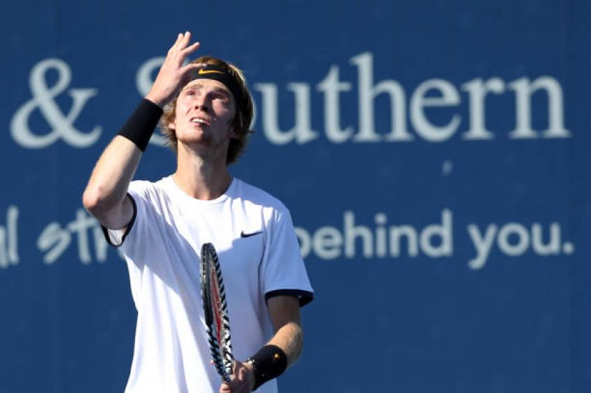 Andrey Rublev: 'Today was my day, while for Roger Federer...'