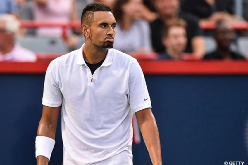 Nick Kyrgios justifies Cincinnati meltdown by comparing with Nadal