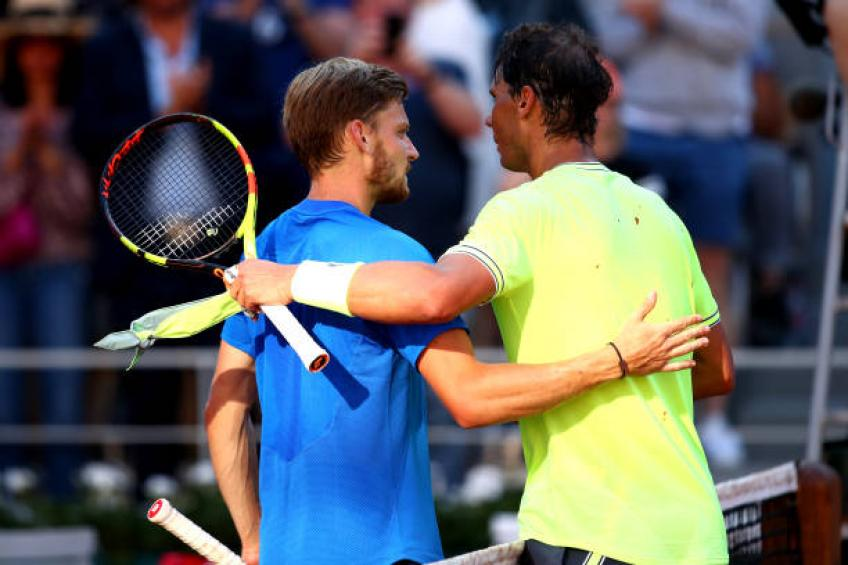 David Goffin: 'Playing good match against Rafael Nadal in Paris was useful'