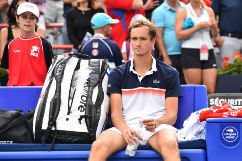 Daniil Medvedev: 'I have more chances to beat Goffin than Rafael Nadal'