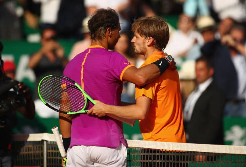 David Goffin: 'Winning a Masters 1000 on clay? Rafael Nadal takes it all'