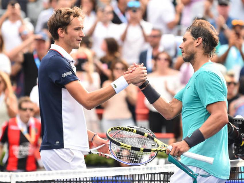 Medvedev: 'Playing finals for Rafael Nadal is a routine. While for me...'