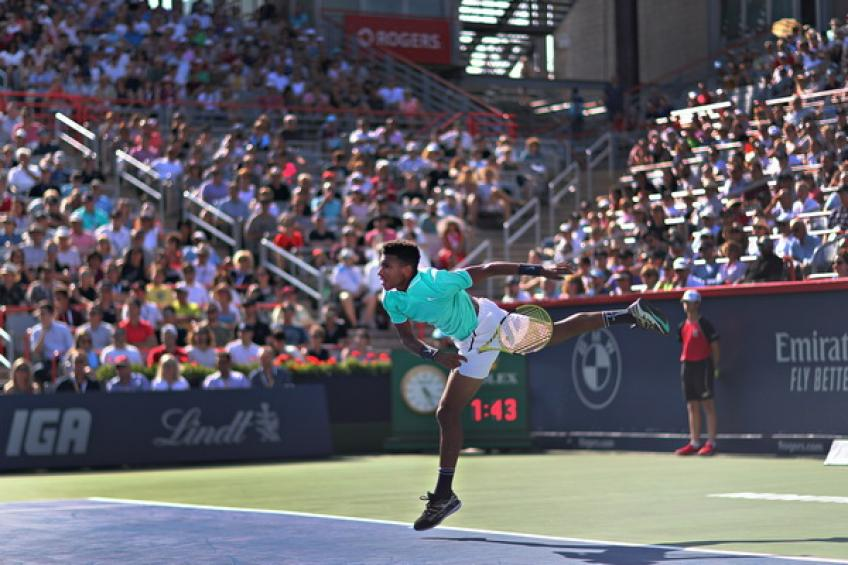 Felix Auger-Aliassime: 'Roger Federer is like divinity when you are kid'