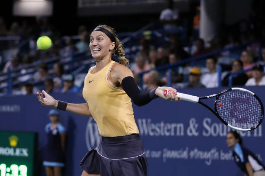 Kvitova: 'I cried in the locker room after my first match back on Tour'