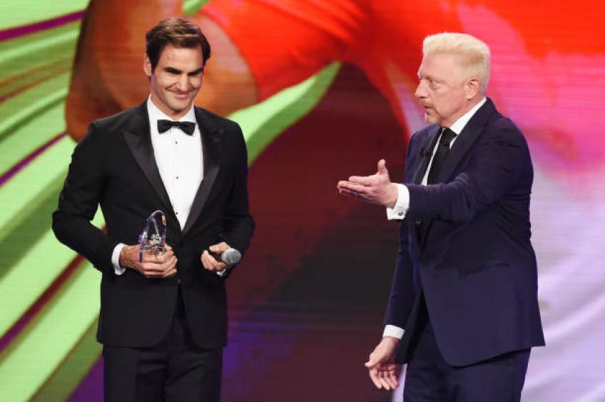 Becker: 'I would probably have had a chance against Roger Federer on grass'