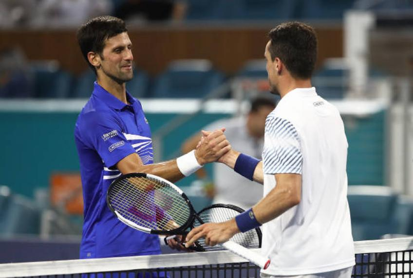 Bautista Agut: 'Beating Novak Djokovic twice was a confidence boost'