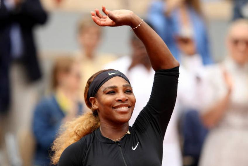 Serena Williams speaks about financial abuse