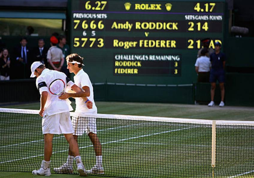 Roddick shares the strenghts of Roger Federer, Rafael Nadal, Novak Djokovic