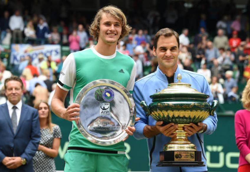 Alexander Zverev confirms he will join Roger Federer's management company