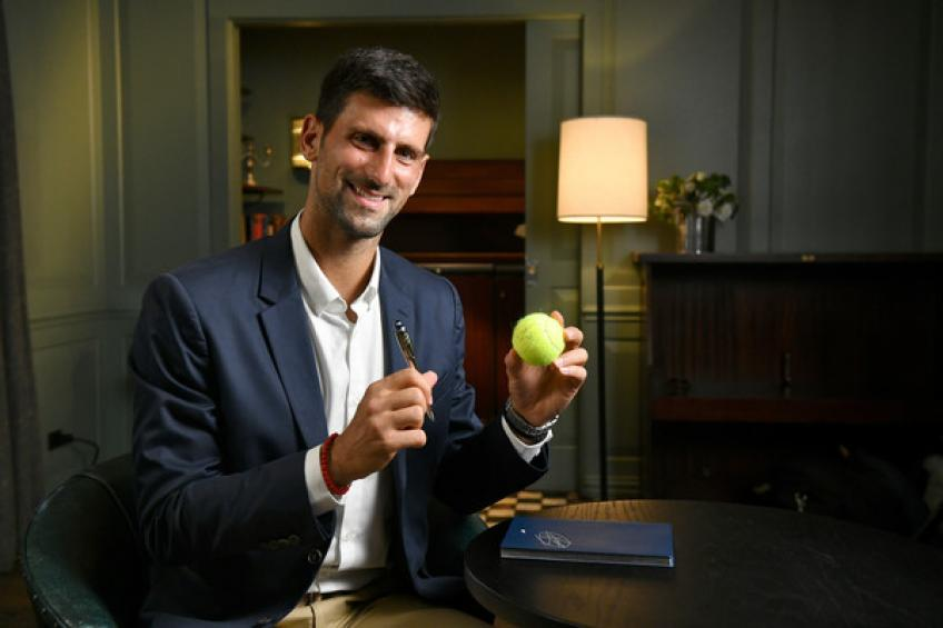 Novak Djokovic looks eager to repeat Roger Federer's US Open feat