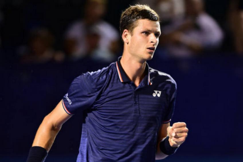 Hubert Hurkacz reacts to winning maiden ATP title in Winston-Salem