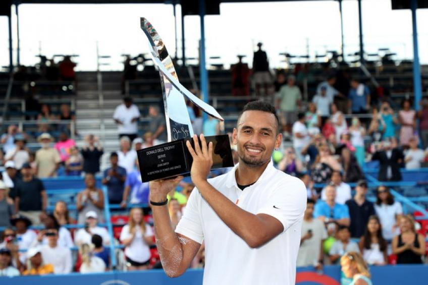 Steve Johnson: 'Nick Kyrgios has the potential to be in the top-5 but..'