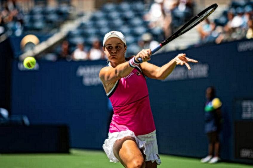 WTA US Open: Ashleigh Barty overcomes slow start. Garcia and Kerber bow out