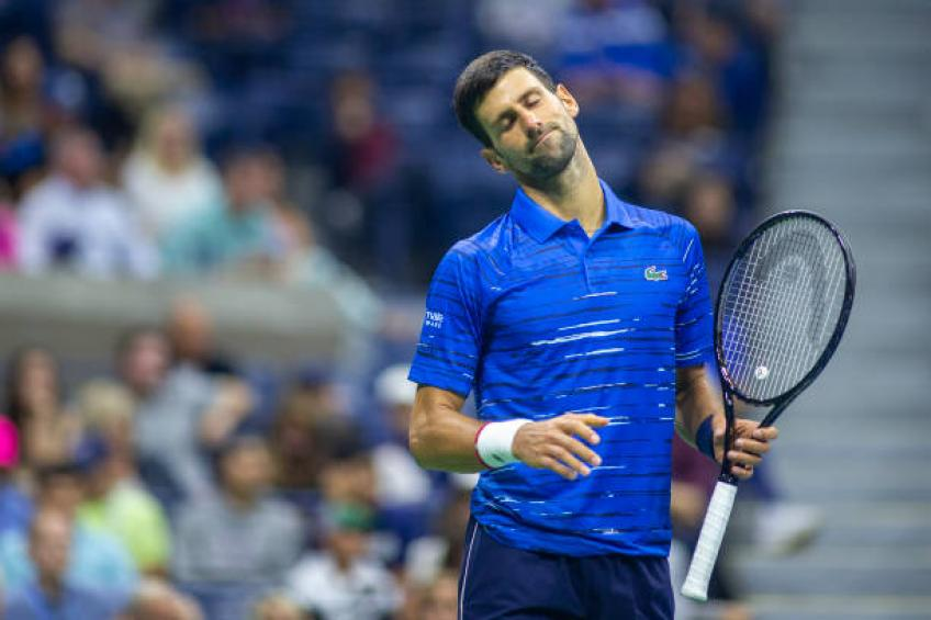 Novak Djokovic: 'I'm probably gonna freeze my arm for 48 hours'