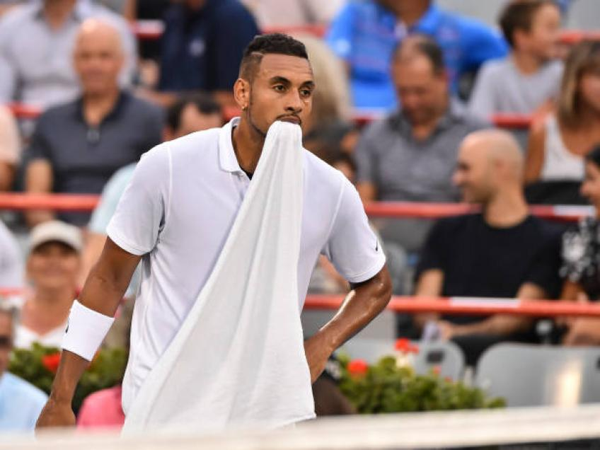 Nick Kyrgios is his own worst enemy, says Laver