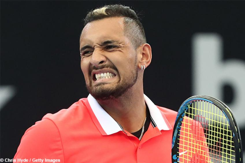 Kyrgios faces Federer's demolisher at US Open: 'It's going to be tough'