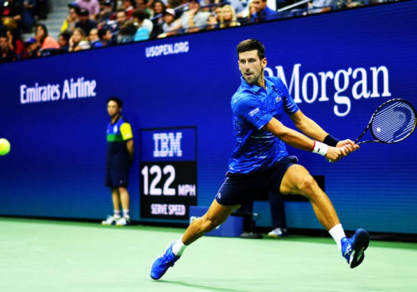 Novak Djokovic's arm injury can become a big deal, says Courier