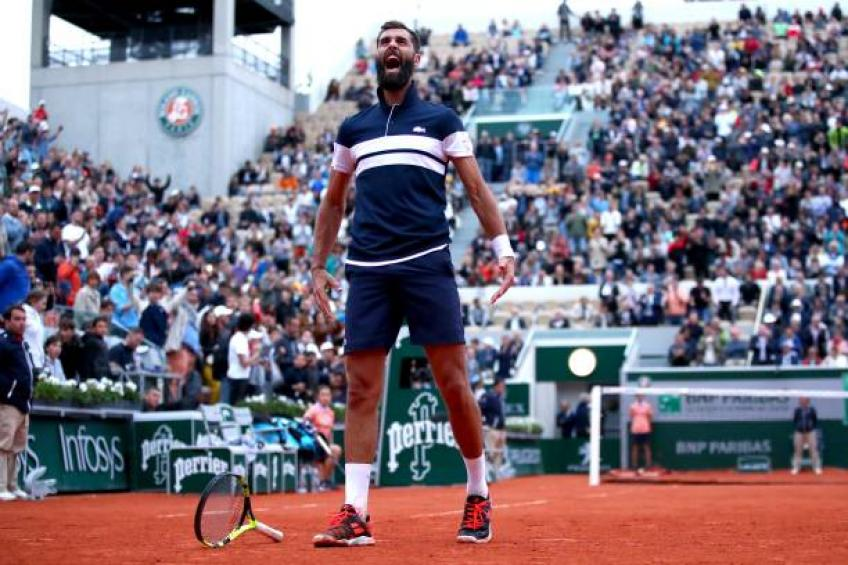 Benoit Paire behaved like an eight-year-old kid, says Bartoli