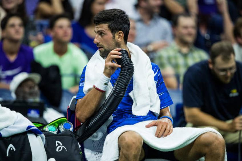 Novak Djokovic opens up on arm injury, arguing with fan
