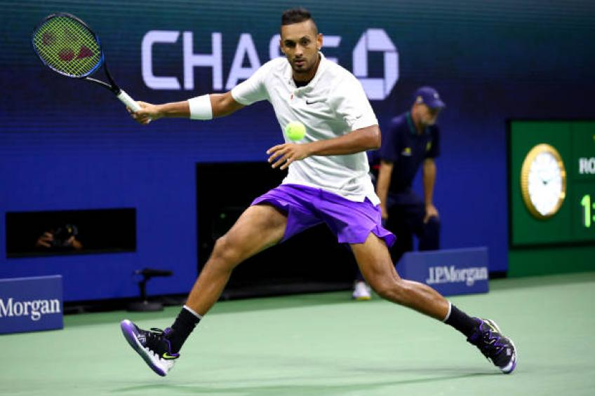 Weary Kyrgios yearns for home but doesn't want a ban