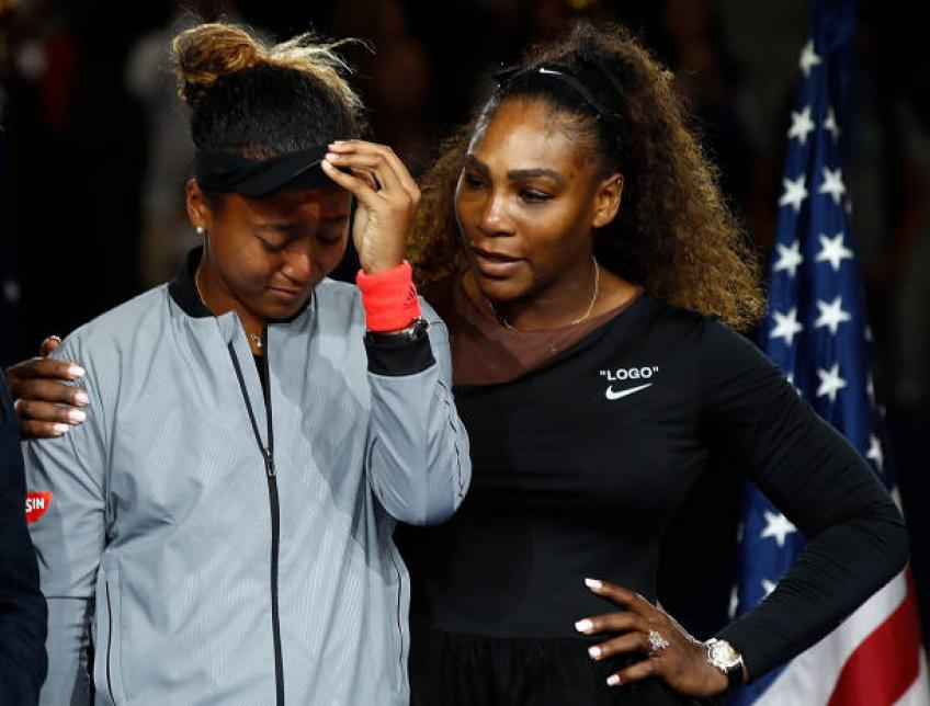 My brain was frying during Serena Williams-Naomi Osaka US Open final - King